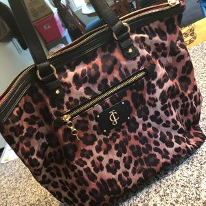 Juicy Couture Cheetah Pocketbook